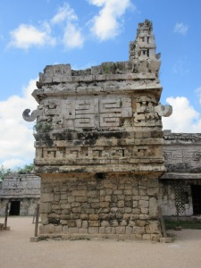 Beautiful detailed carvings at Chichen Itza