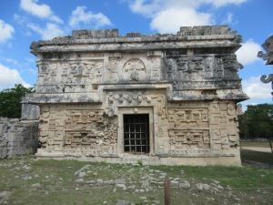 Intricate details on this structure at Chichen Itza