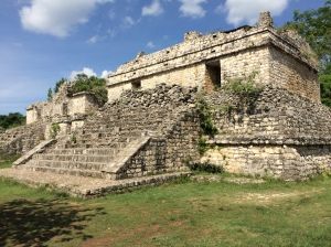 Gorgeous structures at Ek Balam