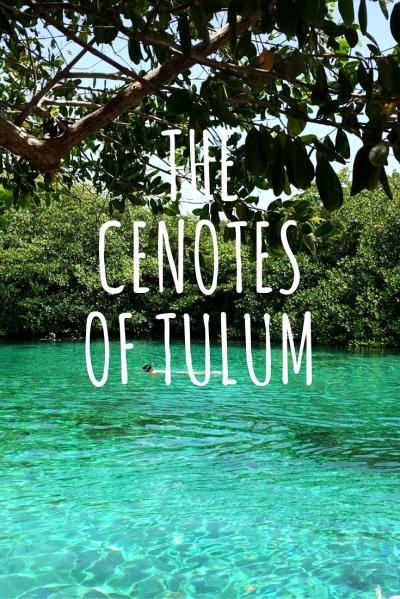 Cenotes of Tulum
