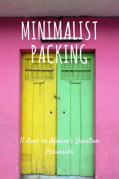 Minimalist Packing Mexico
