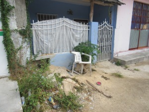 Garbage found in front of people's houses