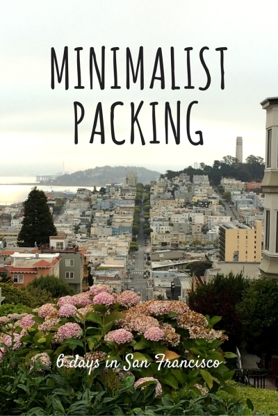 Minimalist Packing San Francisco