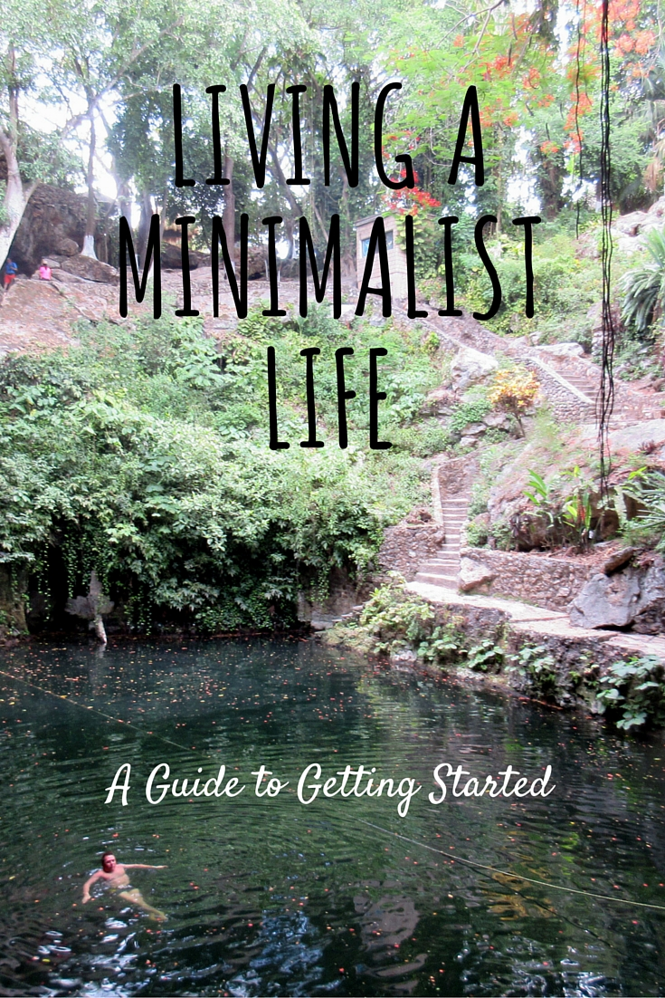 guide to get started living a simpler minimalist lifestyle simply