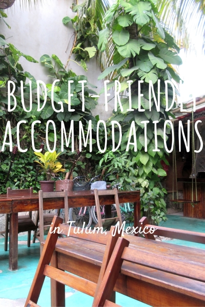 Budget Accommodations Tulum